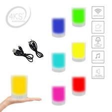 Smart Music Lampe DEL lumière farbwechel m WiFi Intégré Haut-parleur Musikbox