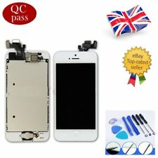 For iPhone 5 White LCD Touch Screen Digitizer Display Full Assembly Replacement