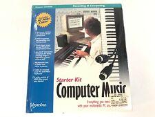 Vintage Midi Voyetra Computer Music Starter Kit Software Cable New Sealed Box