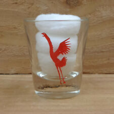 """RED HEN ROOSTER - SAUZA TEQUILA """"Shot Glass"""" orig."""