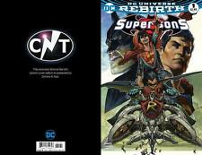 DC Rebirth Super Sons #1 Simone Bianchi UK Exclusive Variant Cover
