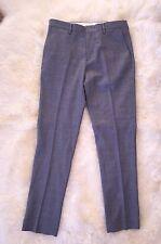 Nwt JCrew $128 Bowery Slim Pants In Wool W32 L32 Ash Grey 47475