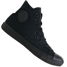 Converse Boys and Girls Chuck Taylor All Star Mono Canvas Hi Trainers 41