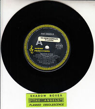 "THE ANGELS  Shadow Boxer 7"" 45 record Albert Productions RARE! + juke box strip"