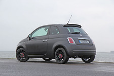 FIAT 500 BLACK RUBBER REPLACEMENT AM/FM AERIAL ANTENNA ROOF MAST