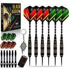 Whimlets Steel Tip Darts Set 6 Pack - Professional Darts Set 22 Grams