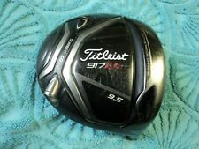 RH Titleist 917D2 9.5* driver head only w/ 12gm neutral weight FREE SHIPPING