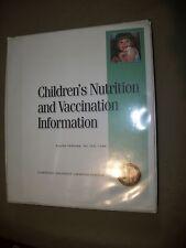 Children's Nutrition and Vacination Information Seminar Text (Spiral, 2005)