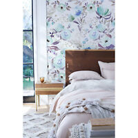 Non-woven wallpaper Pale Garden Flowers | Vintage Floral Art | wall mural