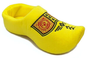 World of Clogs Dutch Clog Slippers in Yellow