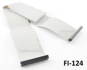 CablesOnline 24 inch 40-Pin IDE Single Drive Flat Ribbon Cable,  FI-124