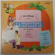 """Disney Record Walt Disney Presenta """"La Cenicienta"""" - LLP-308M - Mint (M)"""