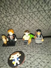 Lot of 3 Lego Harry Potter Set Hogwarts mini figures Owl, Wands, Weasley Nevile
