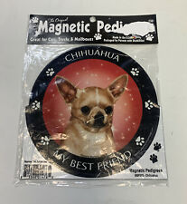 Magnetic Car Magnet Chihuahua Dog My Best Friend Magnetic Pedigrees Pet Gifts