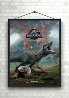 Jurassic World Fallen Kingdom Large Movie Poster Art Print A0 A1 A2 A3 A4 Maxi
