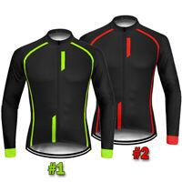 Men Cycling Jersey Jacket Long Sleeve MTB Bike Shirt Clothes Camiseta Ciclismo