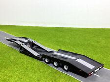 WSI TRUCK MODELS, TRUCK TRANSPORTER TRAILER 3 AXLE