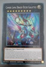 Cipher Lama Drago Occhi Galattici EXFO-ITSE4  SUPER RARA,  MINT YuGiOh!
