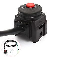 Pitbike push button kill switch 2 wire