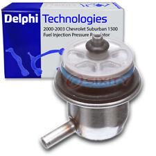 Delphi Fuel Injection Pressure Regulator for 2000-2003 Chevrolet Suburban yb