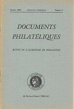 DOCUMENTS PHILATELIQUES + Revue Académie de philatélie -1960 N°6 ETIQUETTES TAXE