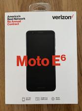 New listing Motorola Moto E6 16Gb - Starry Black (Verizon) Smartphone