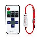 12V Wireless Remote Switch Controller Dimmer Mini LED Strip Light ATAU
