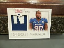 National Treasures Colossal Pro Bowl Jersey Lions Ndamukong Suh 11/12  2013
