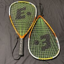 """E Force Power Gladiator 22"""" Longstring Racquetball Racquet With Cover Lot Of 2"""