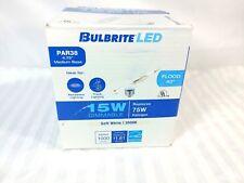 Bulbrite 773465 Flood 100W Incandescent Equivalent LED15PAR38FL/830/D/2 16W Dimm