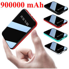 900000mAh Power Bank Portable External Battery Backup Charger For iPhone Samsung