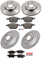 FOR VOLVO S40 MK2 1.6 1.8 2005-2013 FRONT & REAR BRAKE DISCS & PADS SET NEW