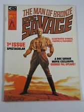 Doc Savage #1 Magazine (Curtis Marvel Comics 1975) Stan Lee; Buscema art