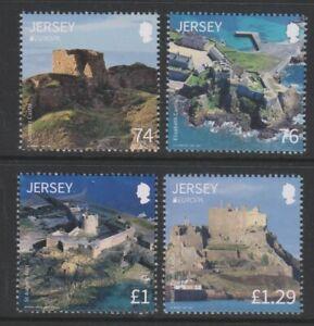 Jersey - 2017, Jersey Castles & Forts set - MNH - SG 2135/8