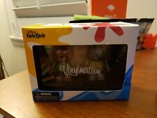 """Disney Vinylmation 3"""" Park Set 2 Disney Afternoon Baloo and Kit Talespin in Box"""
