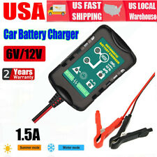 New listing Automatic Battery Charger Maintainer Motorcycle Trickle Float For Tender 6V 12V