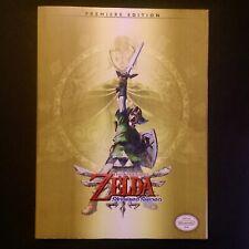Zelda Skyward Sword Premier Edition Official Nintendo Strategy Guide Game Book