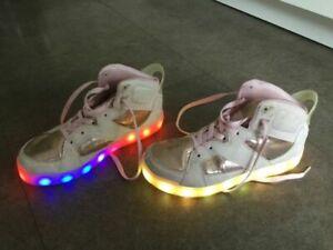 Skechers Energy Lights rosa Gr. 37 Blink-Schuhe halbhoch