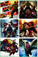 Avengers Age of Ultron Stickers x 6 - Superhero - Favours/Party Rewards - Loot