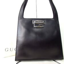 Authentic GUCCI  Handbag Leather[Used]