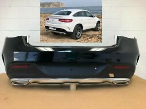 2016-2017 Mercedes Gle300D Front Driver Side Lower Bumper Cover Molding; With Amg; Textured Black Finish; Made Of Pp Plastic Partslink MB1046145