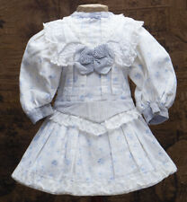 Antique French Original Dress f/Jumeau Bru Steiner Gaultier Other Doll 22-23""