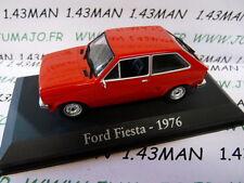 macchina 1/43 RBA Italia IXO : FORD Fiesta 1976 rosso