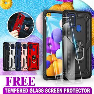 For Samsung Galaxy A11 A21S A31 A51 A71 A20 A30 A50 Magnet Case Heavy Duty Cover