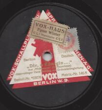 Bariton Hans Bahling  singt Meyerbeer Afrikanerin : Dir, O Königin