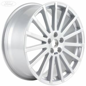 """Genuine Ford Focus Mk2 RS 19"""" Performance Alloy Wheel 8.5J Silver RS500 1692722"""