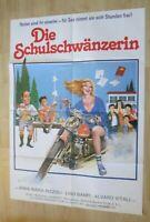 Filmplakat : Die Schulschwänzerin ( Anna Maria Rizzoli, Lino Banfi )