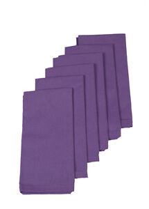 Cotton Napkins Lavender 6/pack