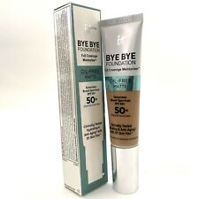 It Cosmetics Bye Bye Foundation Moisturizer -Matte Spf50+ -Neutral Tan- 1oz