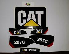 Sticker Set Skid Steer Caterpillar Cat Decal Kit Loader 287c Fast Free Usa Ship